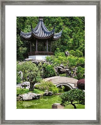 Bansi Garden Framed Print by John Swartz