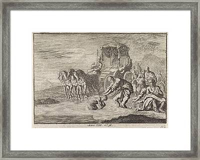 Baptism Of The Eunuch By The Apostle Philip Framed Print