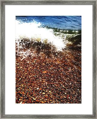 Framed Print featuring the photograph Baptism by Saribelle Rodriguez