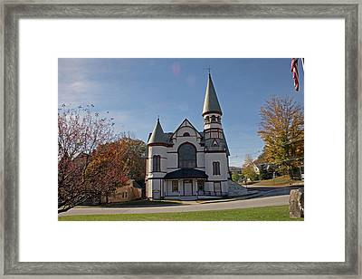 Baptist Church Framed Print