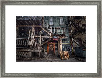 Bar Entrance Framed Print by Bryan Scott