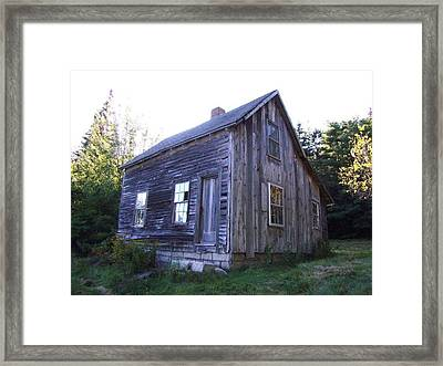 Bar Harbor House Framed Print