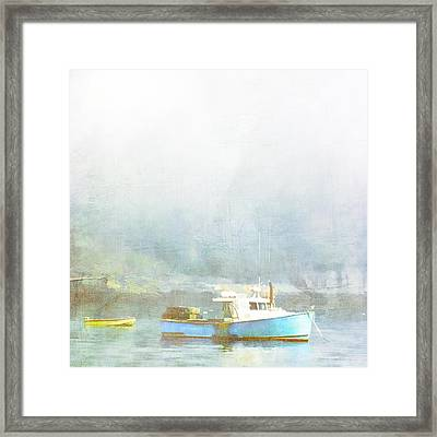 Bar Harbor Maine Foggy Morning Framed Print