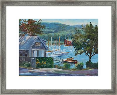 Bar Harbor Maine Framed Print by Michael McDougall