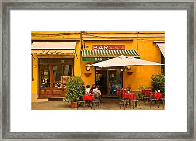 Bar San Giusto Framed Print