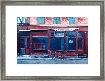 Bar Soho Framed Print by Anthony Butera