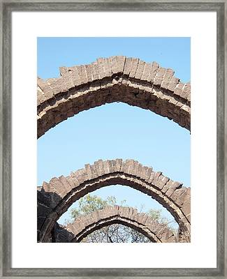 Bara Kaman, The Unfinished Mausoleum Framed Print by David H. Wells