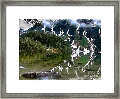 Baranof Lake Framed Print by Robert Bales