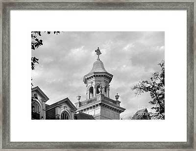Barat College Framed Print by University Icons