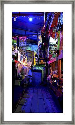 Barback Framed Print