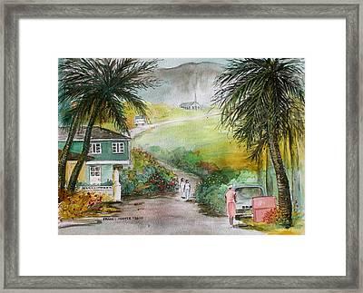 Barbados Framed Print