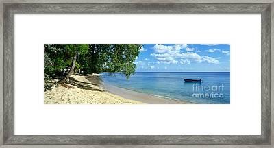 Barbados Framed Print by Rod McLean