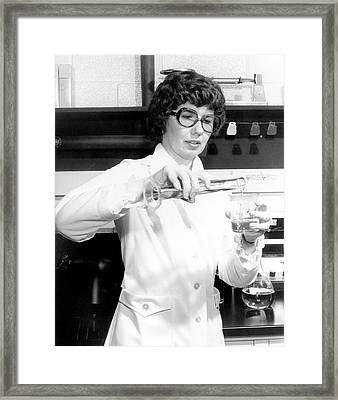 Barbara Askins Framed Print