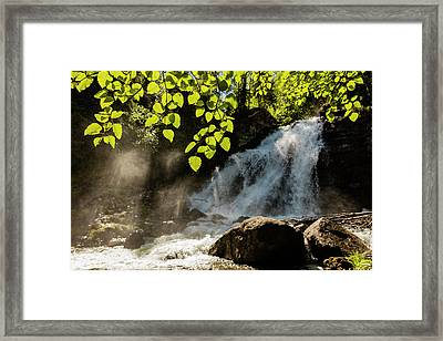 Barbara Falls On The South Fork Framed Print