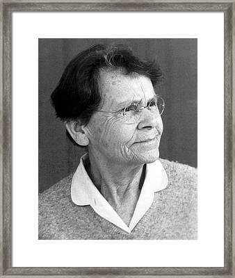 Barbara Mcclintock Framed Print
