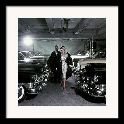 1950s Fashion Framed Prints