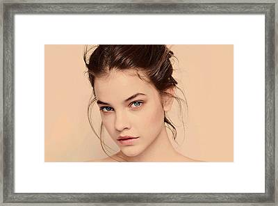 Barbara Palvin Framed Print by Movie Poster Prints
