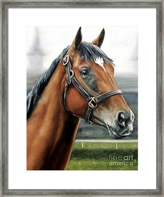 Barbaro At Churchill Downs Framed Print by Thomas Allen Pauly