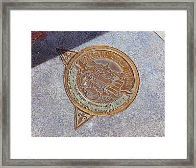 Barbary Coast Trail Framed Print