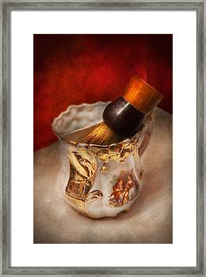 Barber - Shaving - The Beauty Of Barbering Framed Print