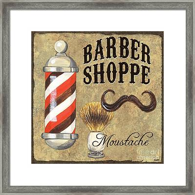 Barber Shoppe 1 Framed Print by Debbie DeWitt