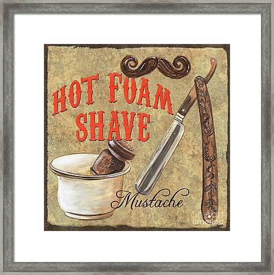 Barber Shoppe 2 Framed Print by Debbie DeWitt