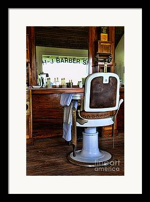 Barberchair Framed Prints