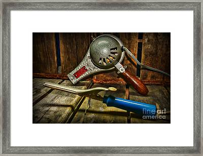 Barber - Vintage Hair Care Framed Print by Paul Ward