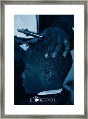 Barbershop  Art Framed Print
