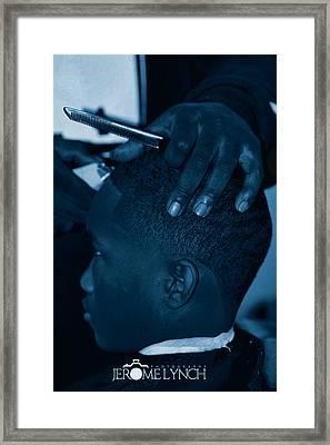 Barbershop  Art Framed Print by Jerome Lynch