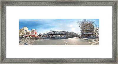 Barbes - Rochechouart Framed Print by Marc Philippe Joly