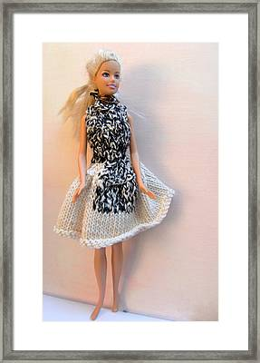 Barbie Doll On A Night Out Framed Print