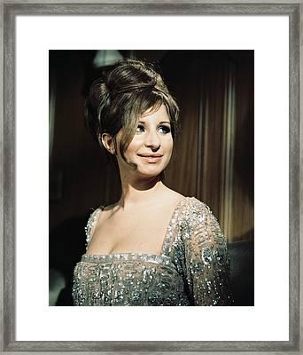 Barbra Streisand In Funny Girl  Framed Print by Silver Screen