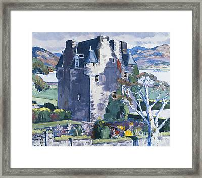Barcaldine Castle Framed Print by Francis Campbell Boileau Cadell