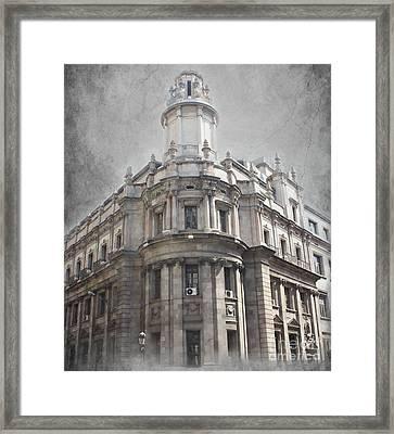 Barcelona Architecture Framed Print by Sophie Vigneault