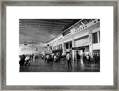 Barcelona El Prat Airport Terminal 2 Catalonia Spain Framed Print by Joe Fox