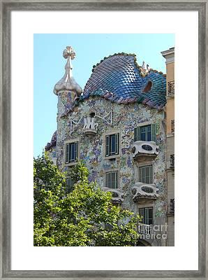 Barcelona Spain Framed Print by Gregory Dyer