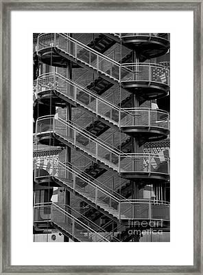 Barcelona Stairs II Framed Print