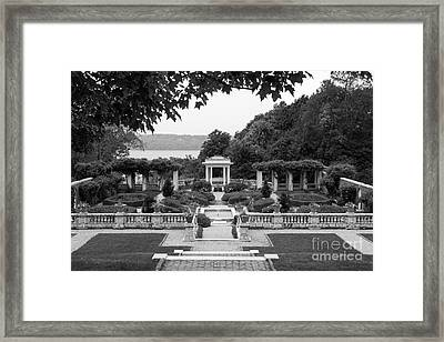Bard College Blithewood Garden Framed Print by University Icons