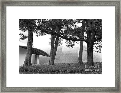Bard College Fisher Center Framed Print by University Icons