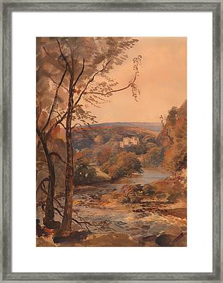 Barden Tower Yorkshire Framed Print