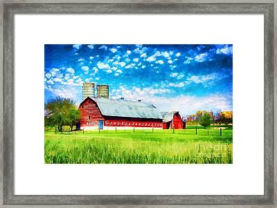 Bardstown Kentucky Framed Print
