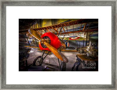 Bare Bones Framed Print by Marvin Spates
