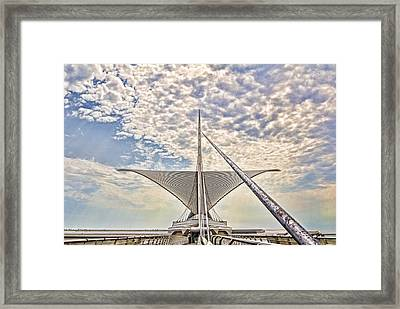 Bare Metal Mam Framed Print by Daniel Sheldon