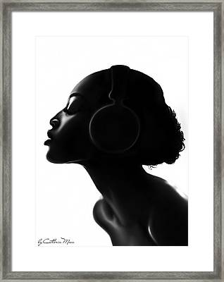 Bare Soul Framed Print by Catherin Moon