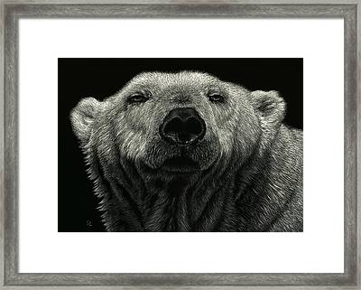 Barely Awake Framed Print by Sandra LaFaut
