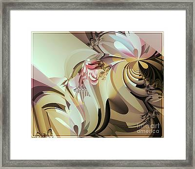 Barely Dusk Framed Print