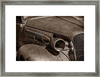 Barely Existing Framed Print by Jon Glaser