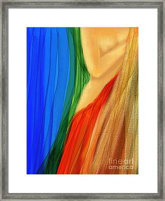 Barely There Framed Print by Hilda Lechuga