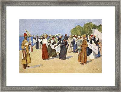 Bargain Hunting, From The Light Side Framed Print by Lance Thackeray